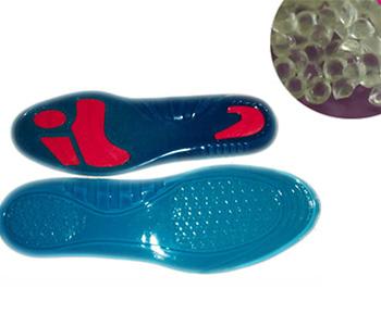 蓝色透明tpe鞋底料