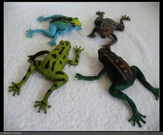 本色tpr仿真动物玩具料