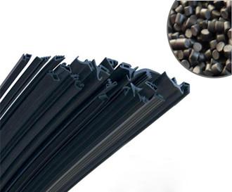 黑色tpe胶条材料