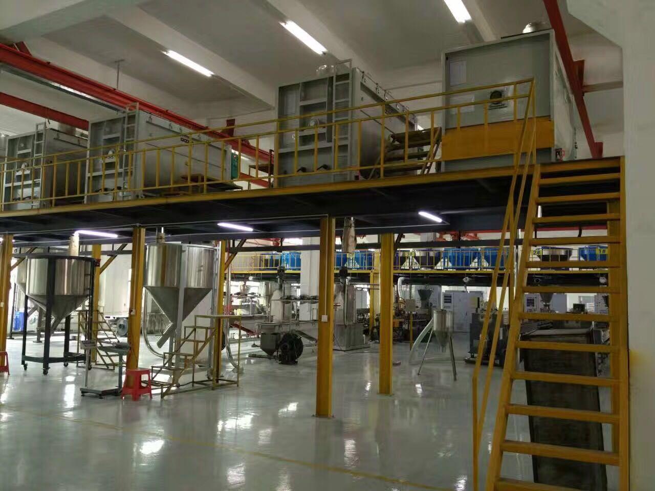 塑伯新材料产品生产线