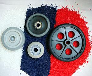 高耐磨TPR脚轮料应用案例