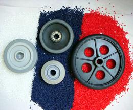TPE/TPR脚轮料 高耐磨轮子包胶料